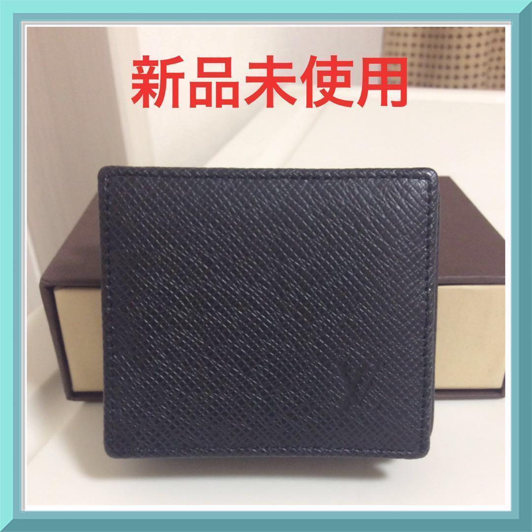 superior quality 2ee8d 669c1 新品 未使用 ルイヴィトン タイガ 黒 メンズ コインケース 小銭入れ 本物(¥25,000) - メルカリ スマホでかんたん フリマアプリ