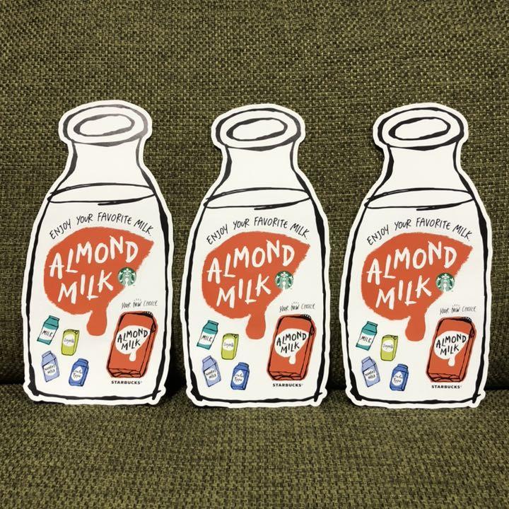 アーモンドミルク スタバ 糖質