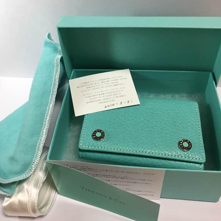 sale retailer f4331 0552d ティファニー キーケース(¥23,000) - メルカリ スマホでかんたん フリマアプリ