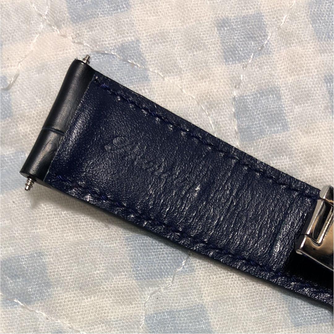 156a93665653 メルカリ - クロコダイル 時計ベルト「プレミアムクロコ」防水 竹斑 ...