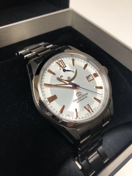5000827f2e メルカリ - ‼ オリエントスター WZ0041AF 超美品‼ チタン 【腕時計 ...
