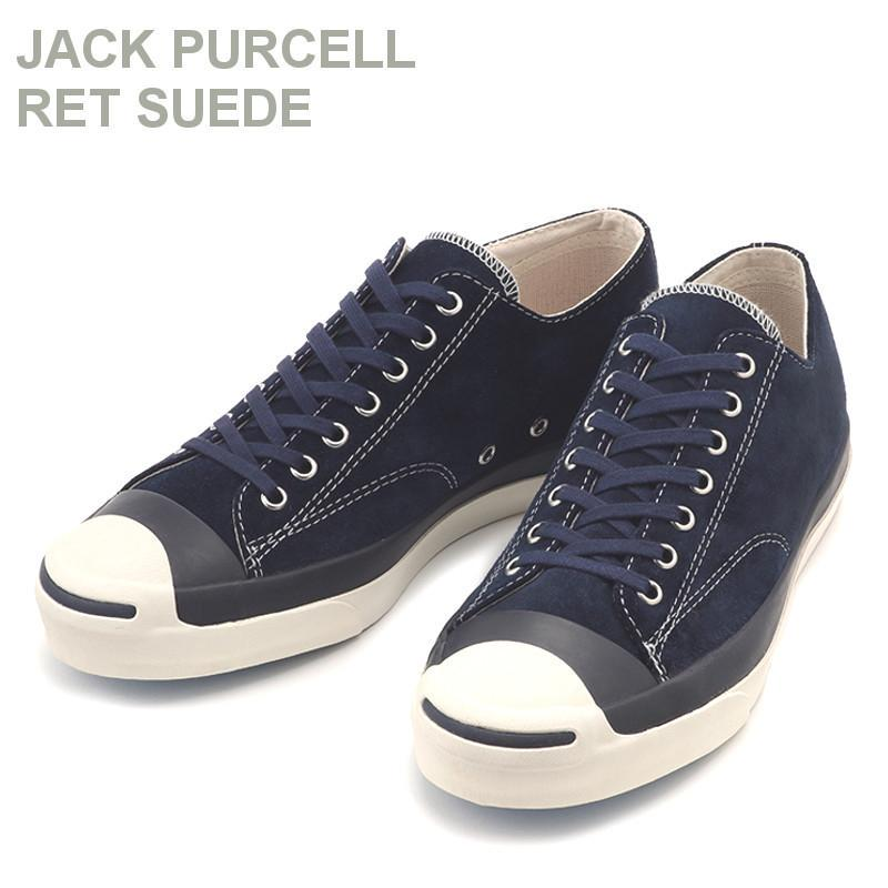 CONVERSE JACK PURCELL RET SUEDE NVY