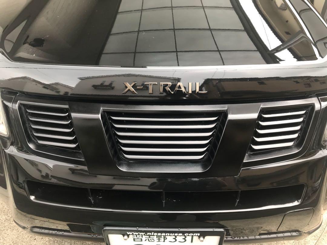 エクストレイル T31 後期 マークレスフロントグリル 黒塗装(¥11,999) , メルカリ スマホでかんたん フリマアプリ