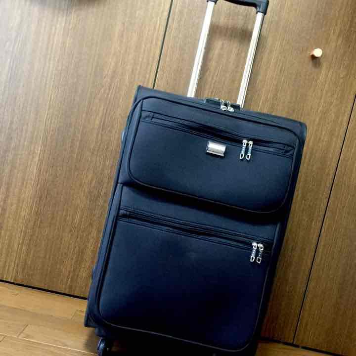 61760ea4f7 メルカリ - パンビーヌ ソフトキャリーケース(ブラック) 【旅行用品 ...