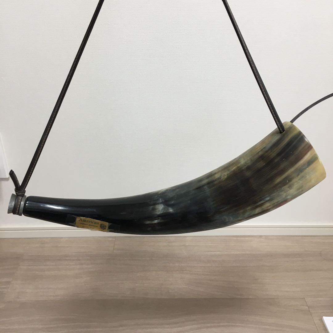 メルカリ - 水牛の角笛 インディアンミュージアム ニューヨーク 【置物 ...