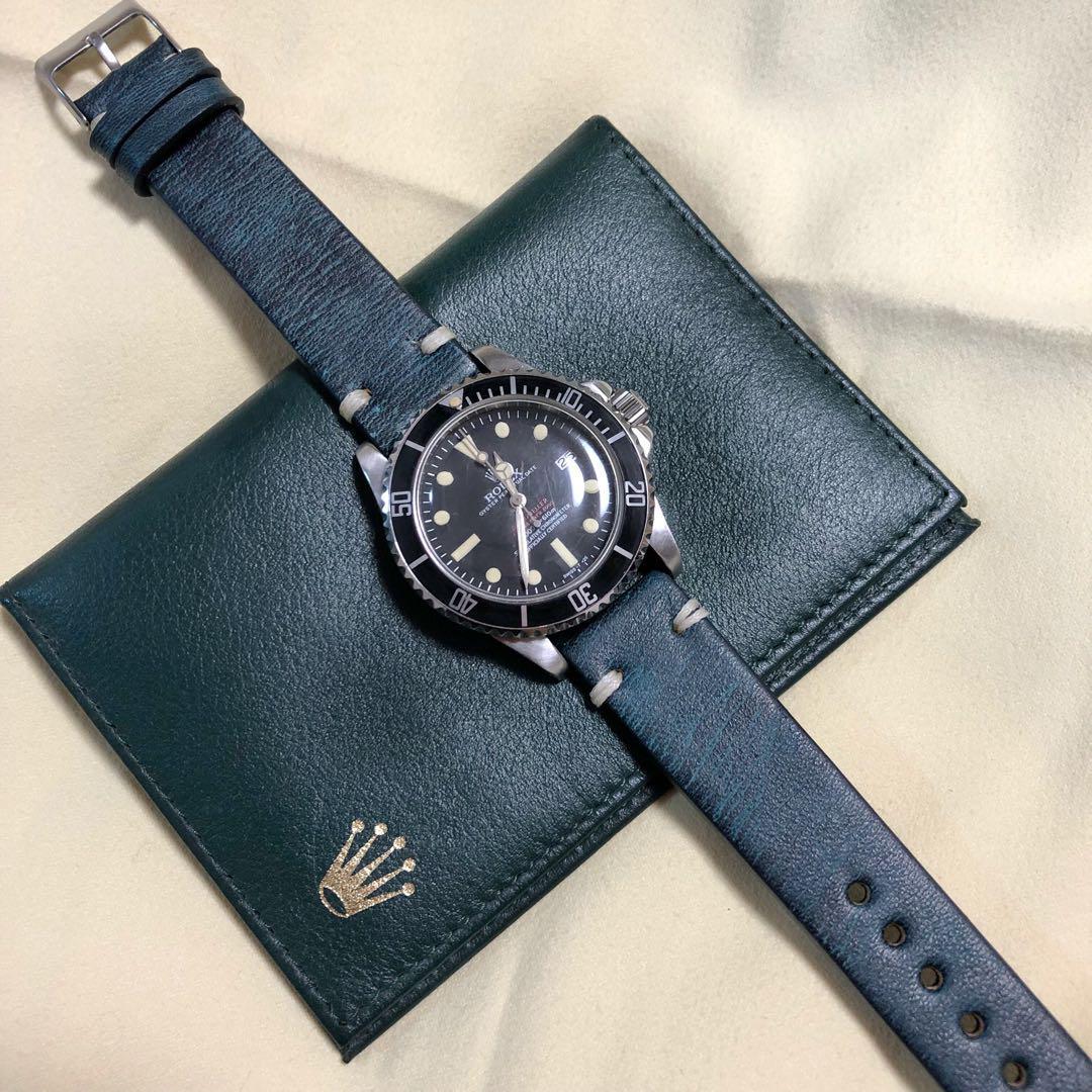 meet 33d11 f1848 メルカリ - ロレックスに最適 腕時計用 レザーベルト バンド 革 ...