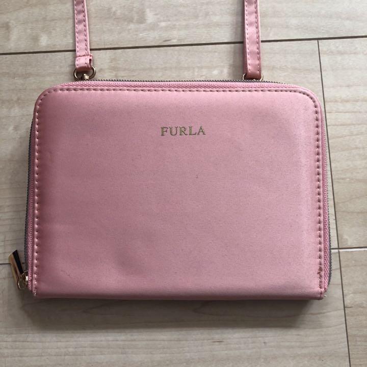 competitive price b9313 0c347 【未使用】付録 FURLA フルラ ウォレットバッグ(¥2,980) - メルカリ スマホでかんたん フリマアプリ