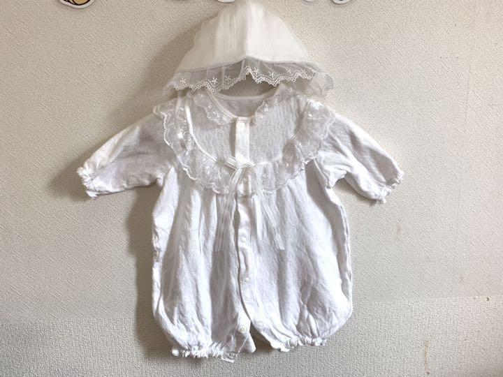db734401278a8 メルカリ - ベビードレス セレモニードレス ロンパース 即購入OK (¥550 ...