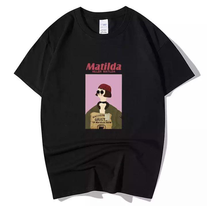 メルカリ Tシャツまとめ割新品leon マチルダ イラスト Tシャツ T
