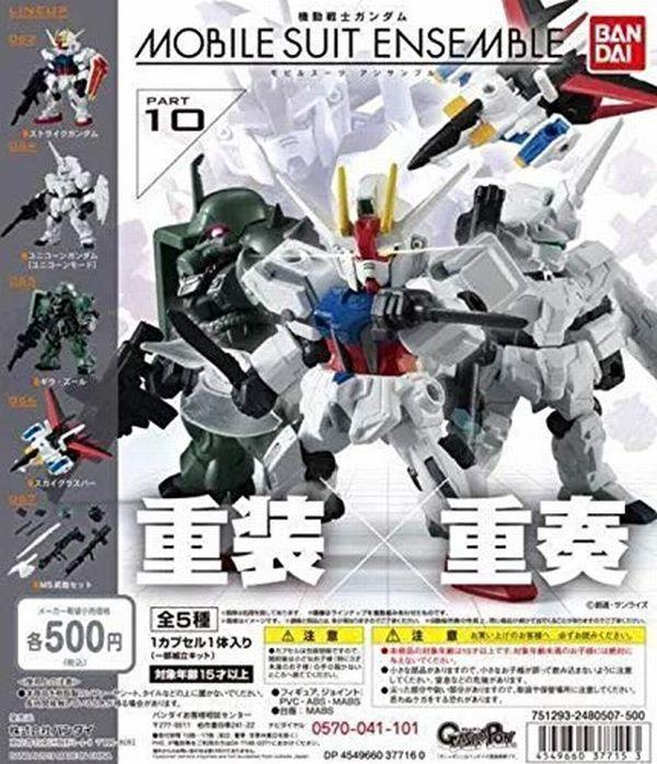 NEW Bandai Gundam Mobile Suit Ensemble 11 SET OF 5 X Hyaku Shiki Gouf Figure