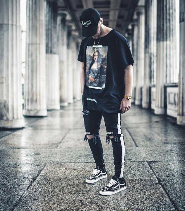 0c968d9f メルカリ - 日本未発売 激レア JAFFARY black SS track jeans 【デニム ...