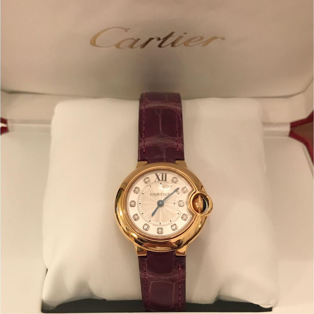 best loved 40478 64e9c 腕時計 カルティエ バロンブルー ピンクゴールド(¥700,000) - メルカリ スマホでかんたん フリマアプリ