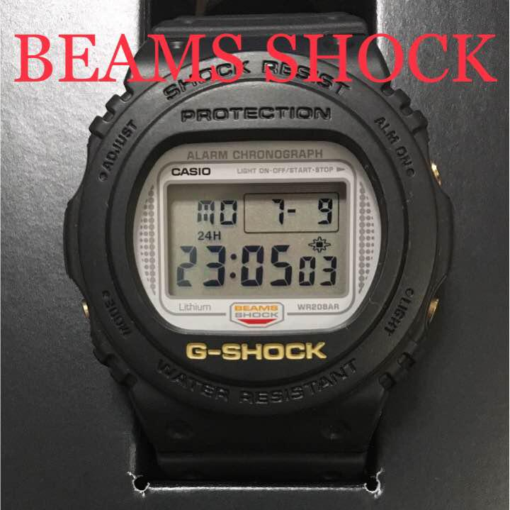 official photos 4a17f 7cf7e G-SHOCK ビームス BEAMS 20周年記念 限定発売品 ブラック(¥16,000) - メルカリ スマホでかんたん フリマアプリ
