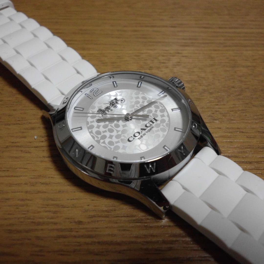 quality design 5ee71 07f2f コーチ 腕時計 美品 メンズ レディース(¥10,000) - メルカリ スマホでかんたん フリマアプリ