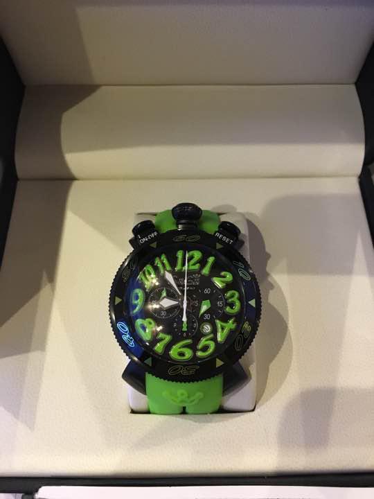 half off 4481c eff19 本日限り!今日までのお値段新品 ガガミラノ 腕時計 メンズ 48mm クォーツ(¥49,899) - メルカリ スマホでかんたん フリマアプリ