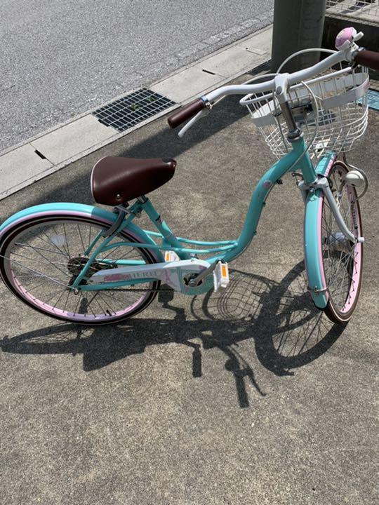 女の子 インチ 自転車 22