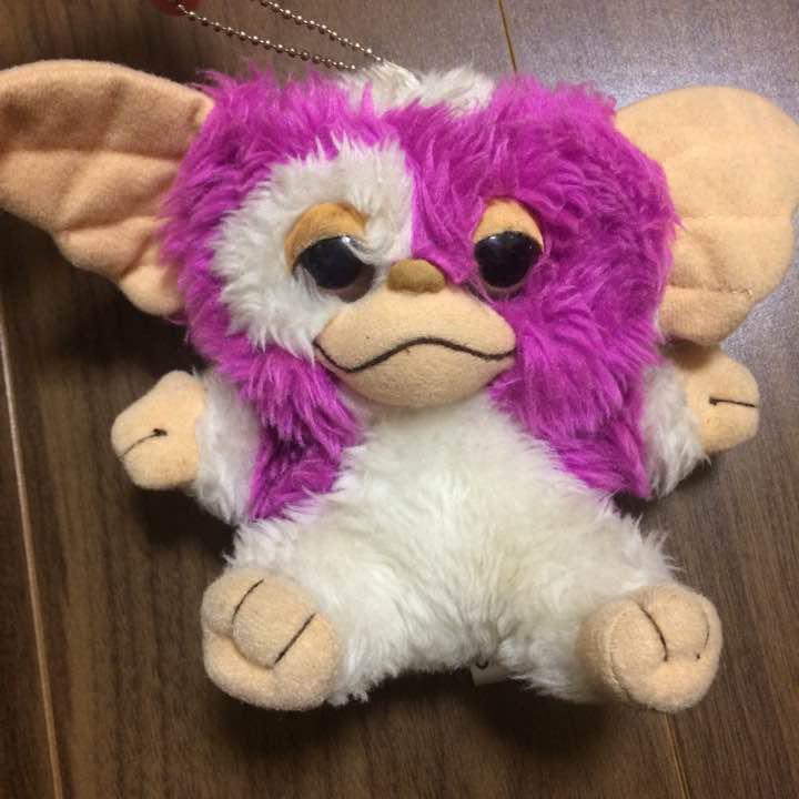 【レア】グレムリン ギズモ ピンク色 ぬいぐるみエコバッグ(¥999) , メルカリ スマホでかんたん フリマアプリ