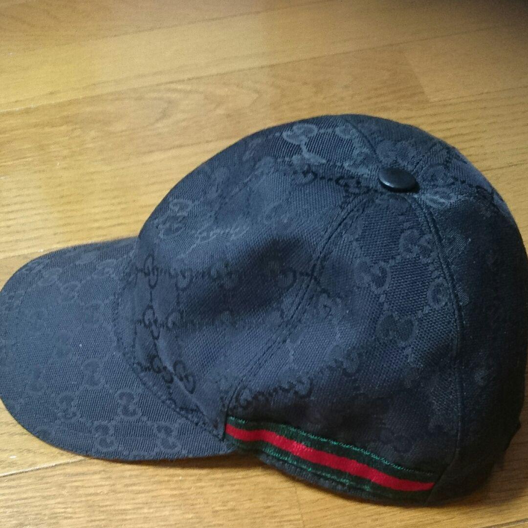 new style 80c6b 6cc51 GUCCI グッチ キャップ 帽子 Mサイズ(¥26,000) - メルカリ スマホでかんたん フリマアプリ