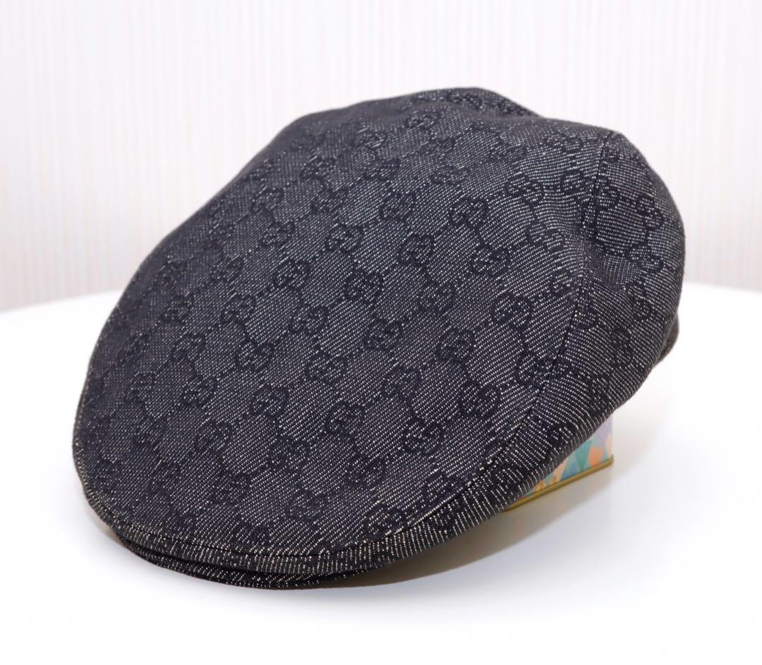 online store e33a9 b66bf GUCCI ハンチング グッチ 帽子(¥13,000) - メルカリ スマホでかんたん フリマアプリ