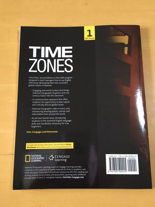 Time Zones Student Book 1