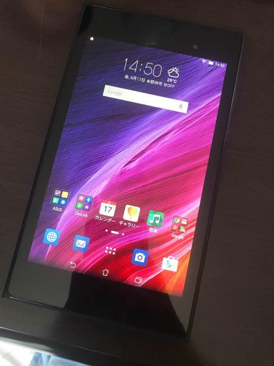 ASUS MeMO Pad 7 ME572C Android タブレット(¥ 5,500) - メルカリ スマホでかんたん フリマアプリ