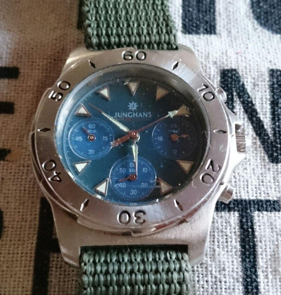timeless design 22335 72cdd ユンハンス腕時計 セイコーシチズンオリエント好きな方へ(¥3,000) - メルカリ スマホでかんたん フリマアプリ