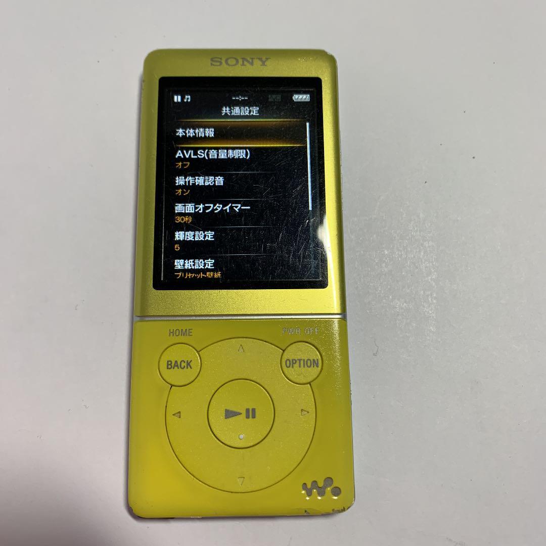 メルカリ ソニーウォークマンnw S774 8gb 管理ナンバー0633 ポータブルプレーヤー 3 800 中古や未使用のフリマ