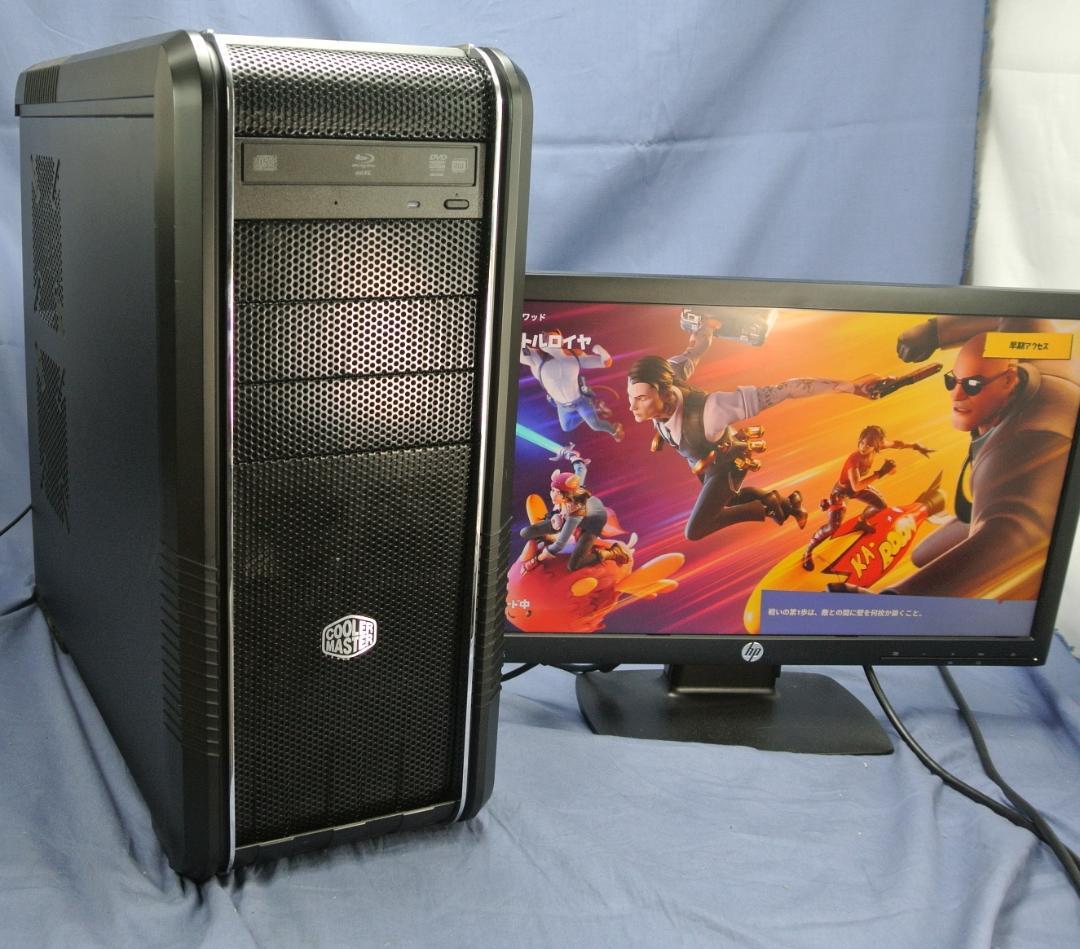 メルカリ かっこいい Ssdゲーミングpc I7 3770 16g フォートナイト済 デスクトップ型pc 46 800 中古や未使用のフリマ