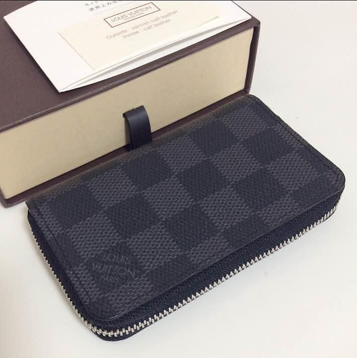 size 40 32269 c745c 極美品 ルイヴィトン ダミエ 黒 グラフィット メンズ コインケース 本物(¥28,000) - メルカリ スマホでかんたん フリマアプリ