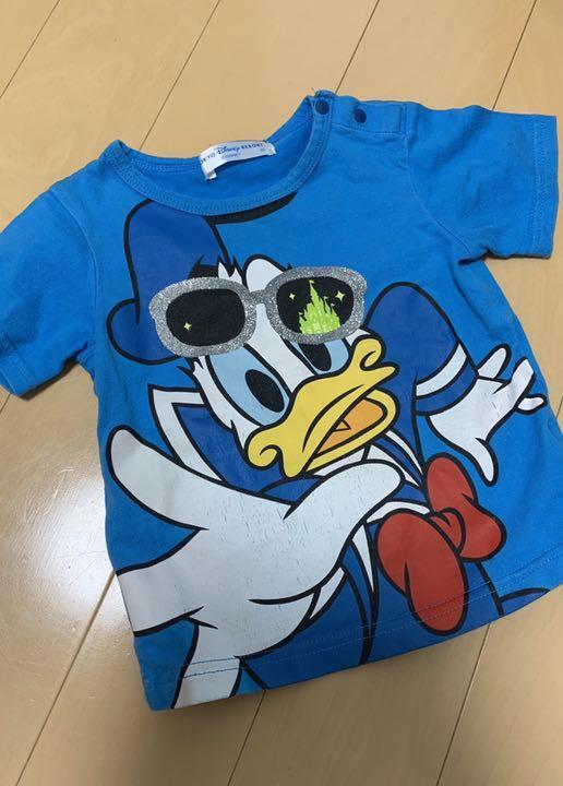 b7f51bc6b0e63 メルカリ - ディズニーTシャツ 80  トップス  (¥300) 中古や未使用のフリマ