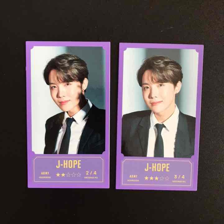 BTS J-HOPE Hosoku BANGBANG CON Official Message Photo Card ...
