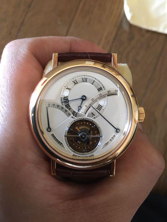 best website 0a7a9 9d0a7 ブレゲ トゥールビヨン 腕時計(¥9,998,800) - メルカリ スマホでかんたん フリマアプリ