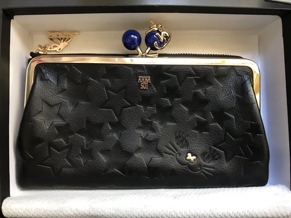 new product 9442f d65a0 ANNA SUI(アナスイ) 財布 新品 未使用(¥15,000) - メルカリ スマホでかんたん フリマアプリ