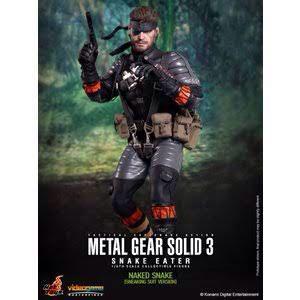 Hot Juguetes Como Nuevo Metal Gear Solid 3 Snake