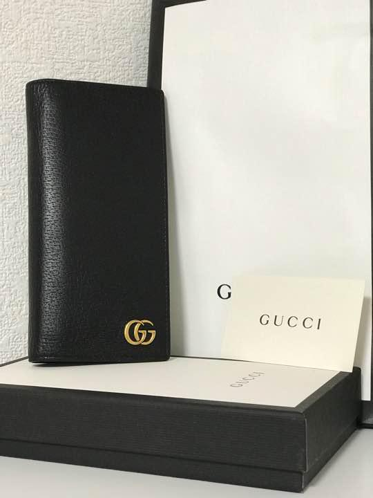 huge discount f232f 898a5 GUCCI GGマーモント 長財布 メンズ(¥47,000) - メルカリ スマホでかんたん フリマアプリ