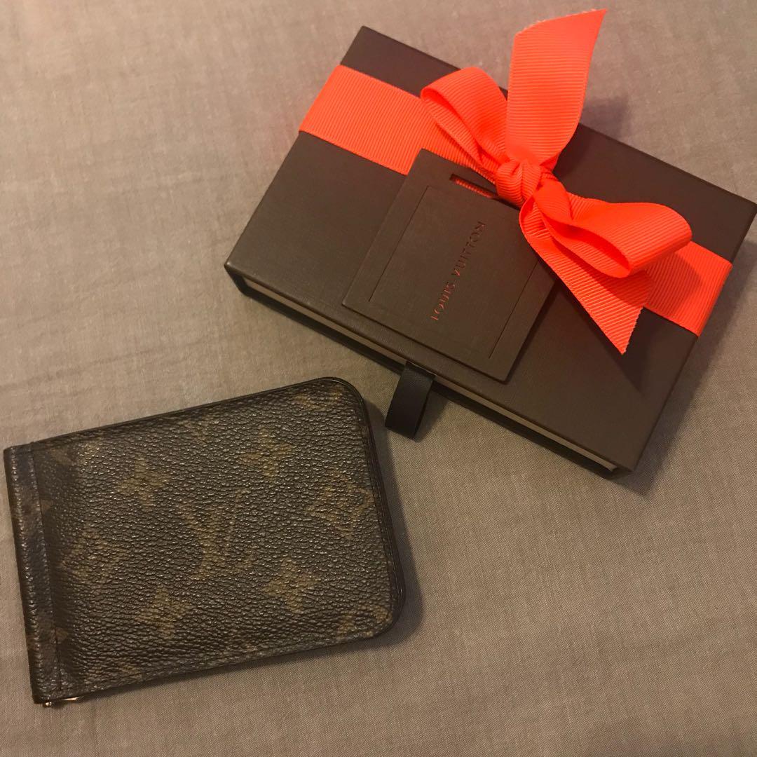 on sale 3602d 46d26 LOUIS VUITTON マネークリップ 2つ折り 財布(¥16,000) - メルカリ スマホでかんたん フリマアプリ