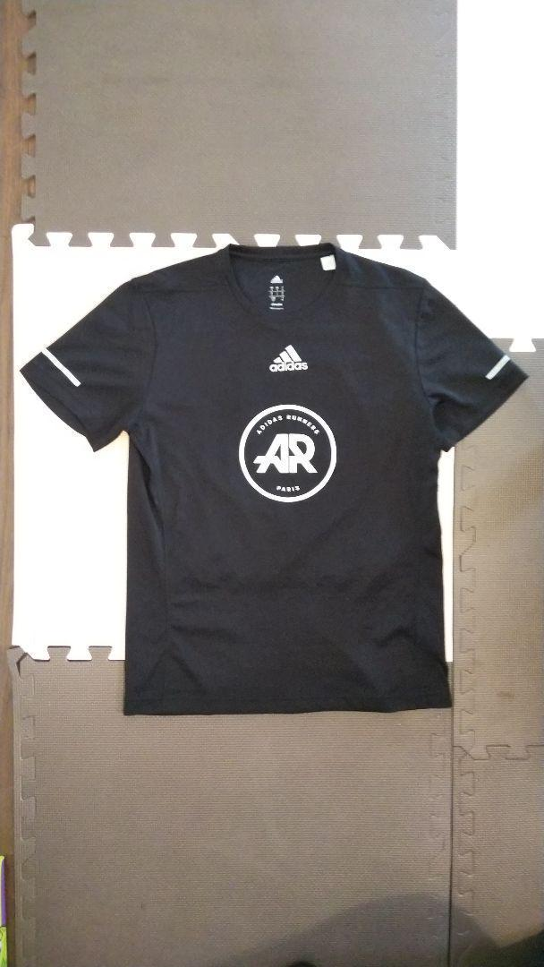 various styles outlet online new specials アディダス adidas runners PARIS Tシャツ M(¥2,000) - メルカリ スマホでかんたん フリマアプリ