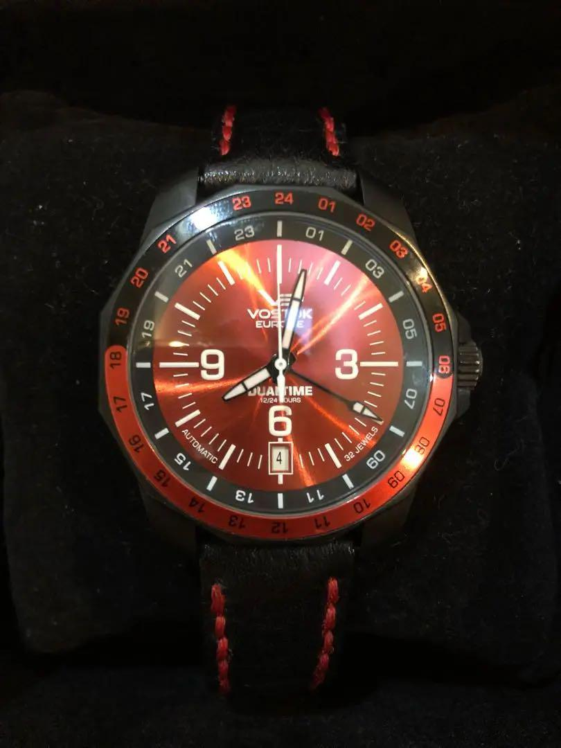 super popular 40dd7 c7157 ボストーク 時計