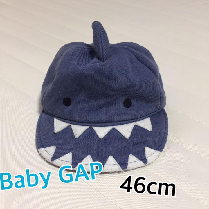 4929abfe2805f メルカリ - Baby GAP ベビーギャップ サメ シャーク キャップ 帽子 46 ...