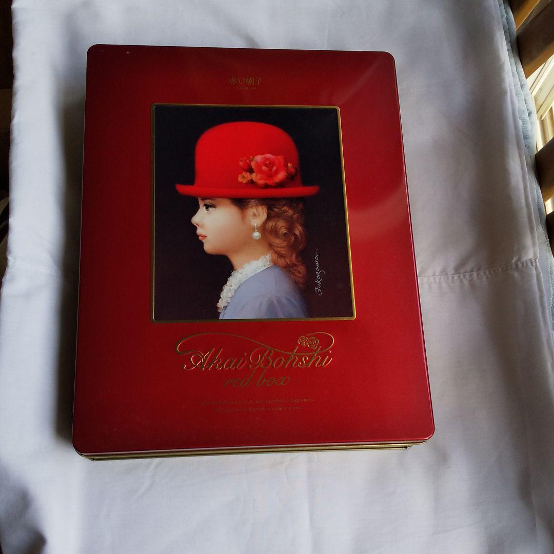帽子 赤い