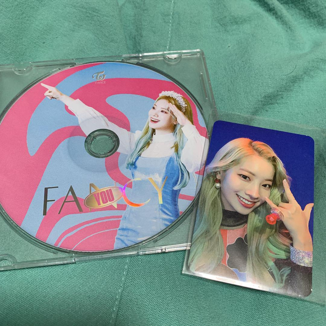 TWICE ダヒョン FANCY CD トレカセット(¥1,000) , メルカリ スマホでかんたん フリマアプリ