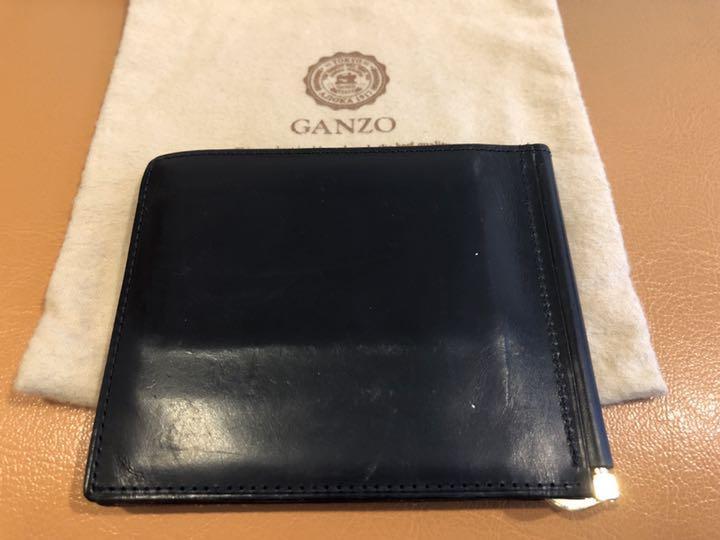 meet 685a3 b5f33 ガンゾ GANZO マネークリップ ネイビー(¥ 4,555) - メルカリ スマホでかんたん フリマアプリ