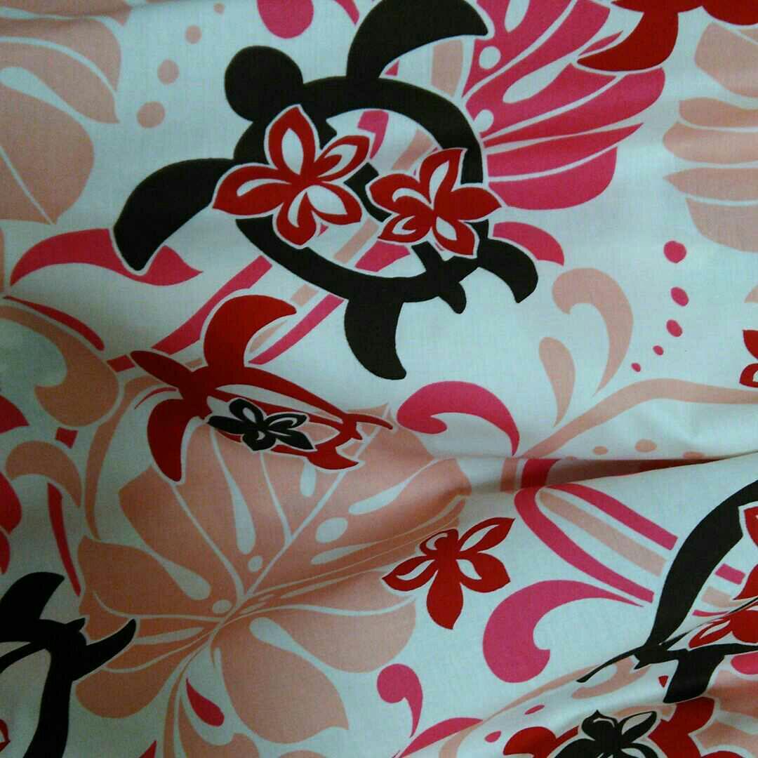 メルカリ ハンドメイド 切替 パウスカート ホヌ モンステラ ピンク クリーム 丈70 ダンス バレエ 2 500 中古や未使用のフリマ