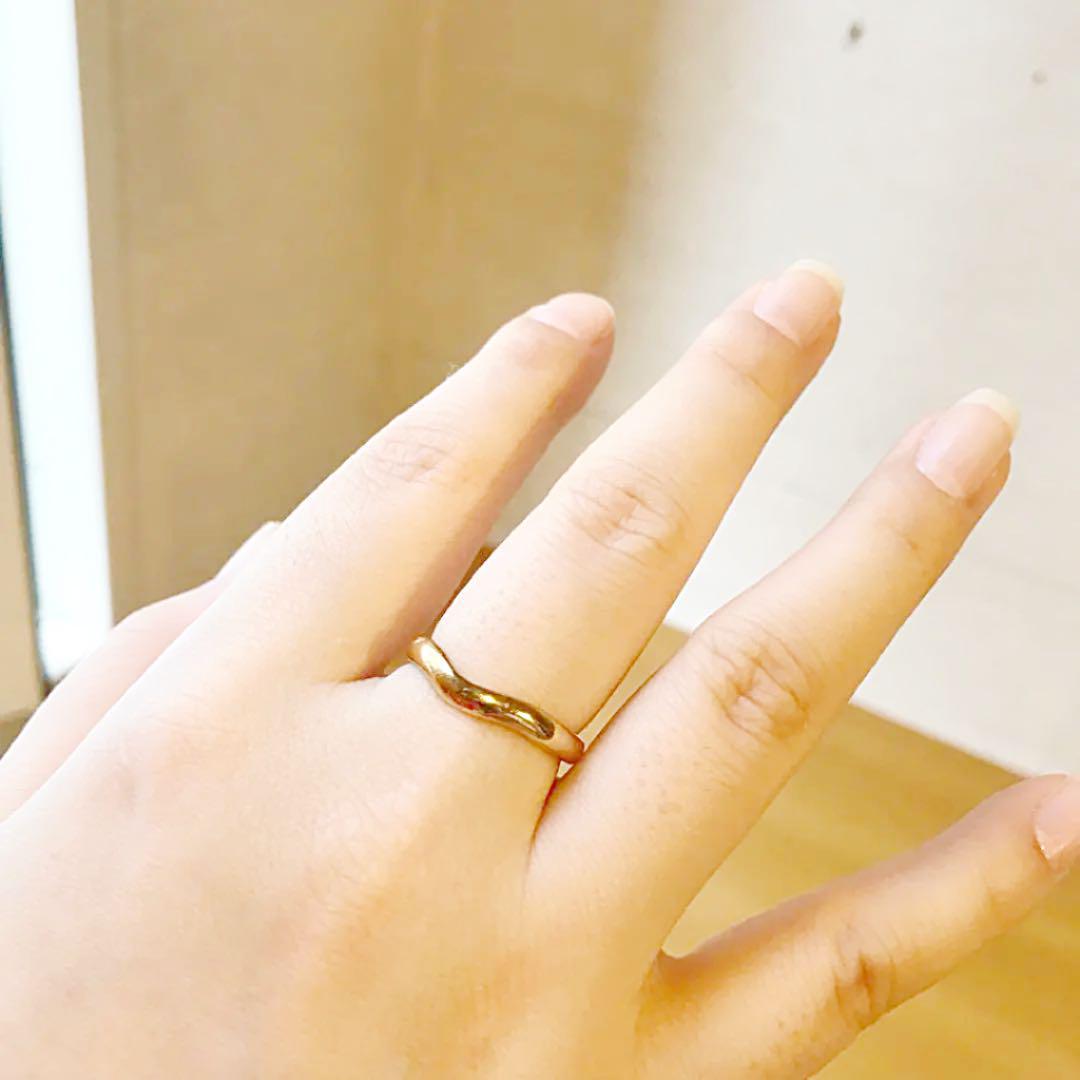 outlet store 05550 42a7c ティファニー ピンクゴールド リング 指輪(¥65,000) - メルカリ スマホでかんたん フリマアプリ