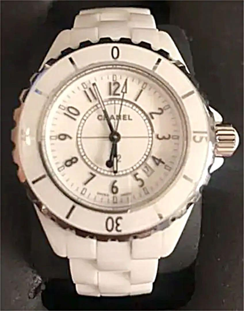 reputable site a6877 eee0c CHANEL J12 セラミック 腕時計(¥240,000) - メルカリ スマホでかんたん フリマアプリ