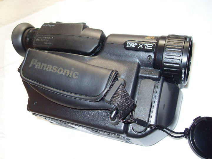 Panasonic Vhs-c Movie Camera Nv-s5 Camcorder