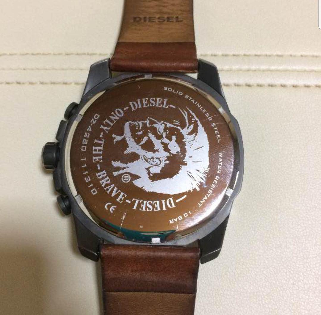 a5ed5378d5 メルカリ - ディーゼル DIESEL 時計 DZ4280 【腕時計(アナログ ...