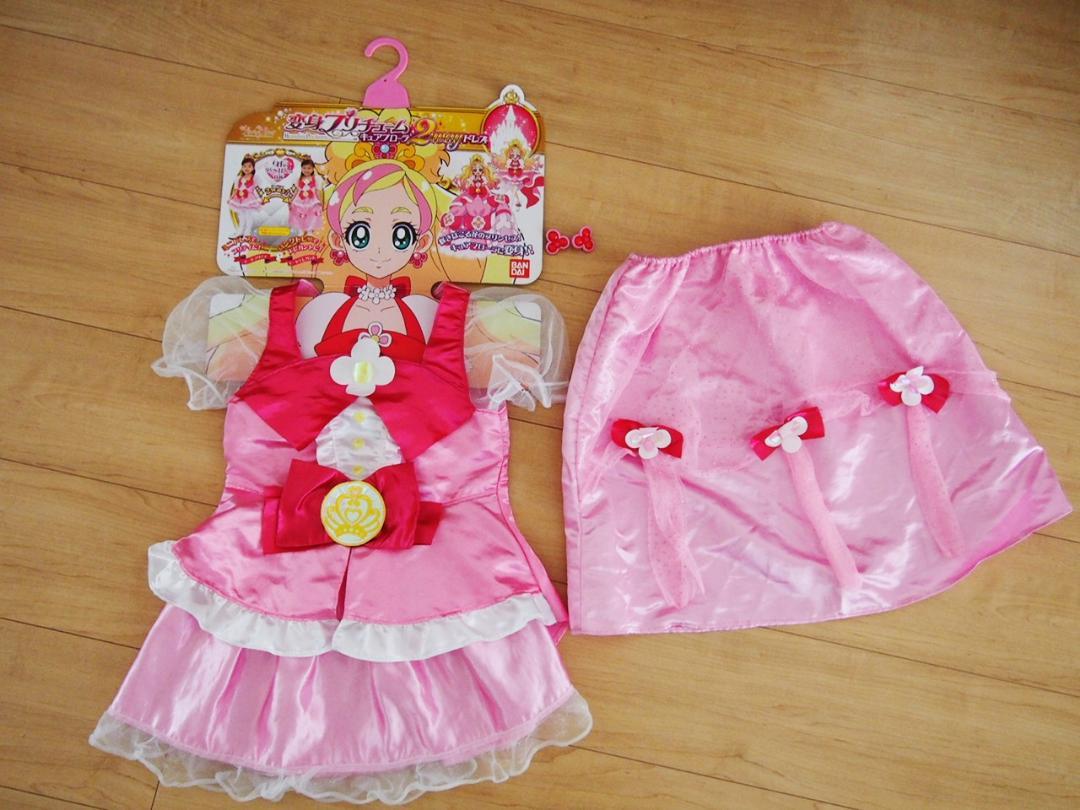 メルカリ go プリンセス プリキュア キュアフローラ2wayドレス