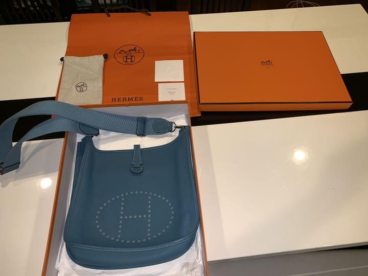 quality design cc700 17a27 HERMES エルメス エブリン ターコイズ 人気カラー 美品(¥ 294,800) - メルカリ スマホでかんたん フリマアプリ