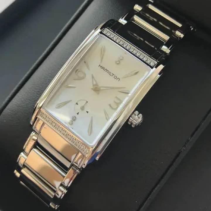 best loved 26888 d2bd9 ハミルトン アードモア ダイヤモンド レディース 時計 腕時計(¥69,800) - メルカリ スマホでかんたん フリマアプリ
